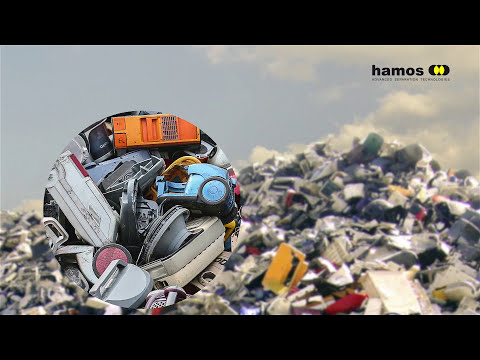Recycling systems for WEEE Plastics - hamos KRS - solution f