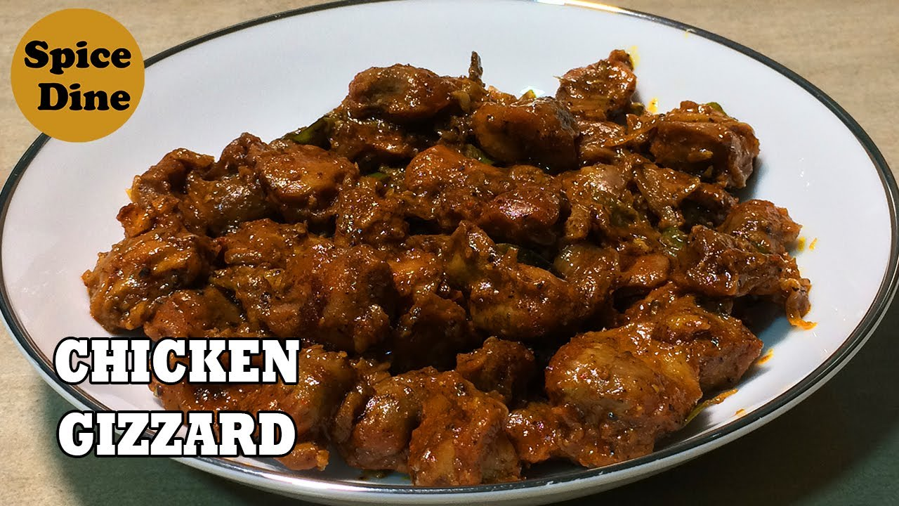 CHICKEN GIZZARD RECIPE | CHICKEN GIZZARD WITH PEPPER | CHICKEN GIZZARD FRY | CHICKEN GIZZARD
