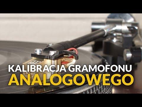 Kalibracja gramofonu analogowego