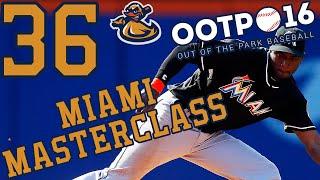 Miami Masterclass Ep 36 - Slumping | Out Of The Park Baseball 2016 (@ootpbaseball) #LetsPlay