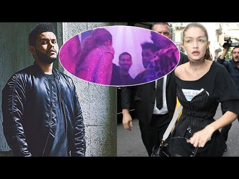 Gigi Hadid Was Apparently Caught Screaming At Bella's Ex The Weeknd At VS After Party