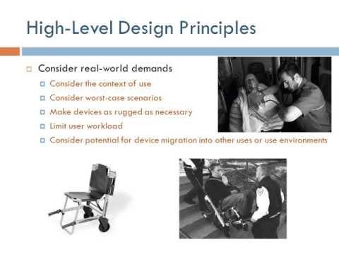 Human Factors Engineering ch4: General Principles (Arabic Narration)