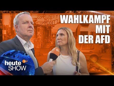 Diese AfD-Kandidatin tritt im links-grün-versifften Kreuzberg an   heute-show vom 16.09.2016