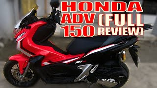 HONDA ADV 150 (FULL REVIEW & WALK-THROUGH)
