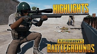 PUBG Highlights #2 - EPIC Plays and Moments! (PlayerUnknown's Battlegrounds)