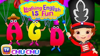 ChuChu TV's Learning English Is Fun™ - New ABC Alphabet Learning Series For Preschool Children thumbnail