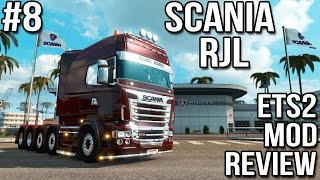 ETS2 Mod Reviews #8 - RJL Scania Tuning Pack