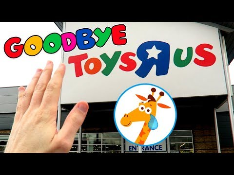 RIP TOYS R US! HUNT FOR WWE FIGURES
