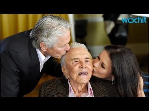 Kirk Douglas Cele Tes 100th Birthday