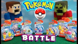 Download Pokemon Sword and Shield Toy Figure BATTLE! Ultimate Puppet Steve Pokeball Fight Mp3 and Videos