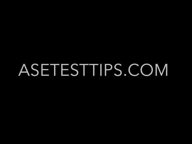 ASE TEST TIPS: Catalytic Converter Testing Part 1