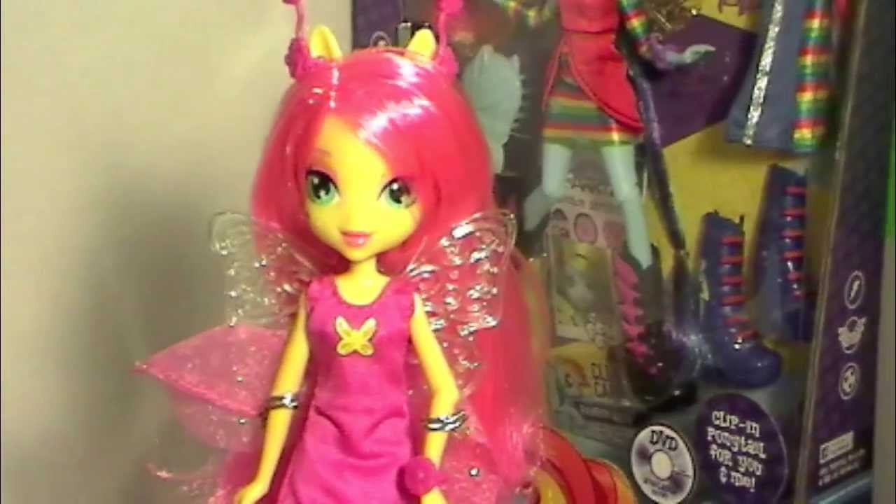 My little pony equestria girl dolls fluttershy - photo#20