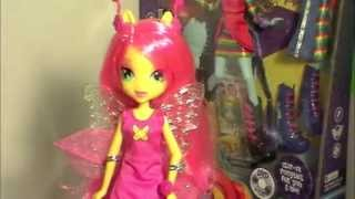 Equestria Girls Fluttershy Doll My Little Pony Review & Unboxing! By Bin's Toy Bin