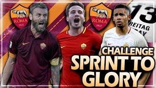 CHALLENGE: NUR AM FREITAG DEN 13. SPIELER KAUFEN !! 😍🔥 | FIFA 18 AS Rom Sprint to Glory