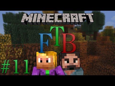 #11 Minecraft Feed The Beast - Wonderment Mining Corp !