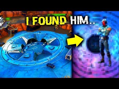 I Glitched INSIDE Loot Lake Bunker! (Fortnite)