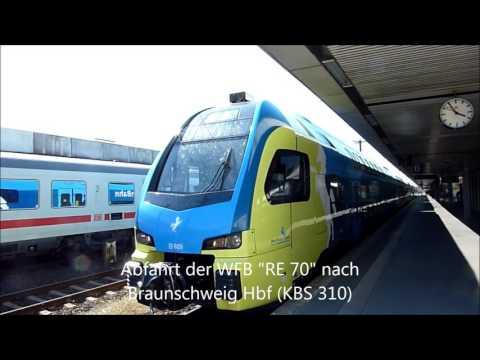 Eisenbahnverkehr in Hannover Hbf