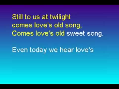 Love's Old, Sweet song