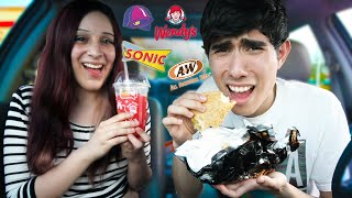 TRYING FAST FOOD PLACES
