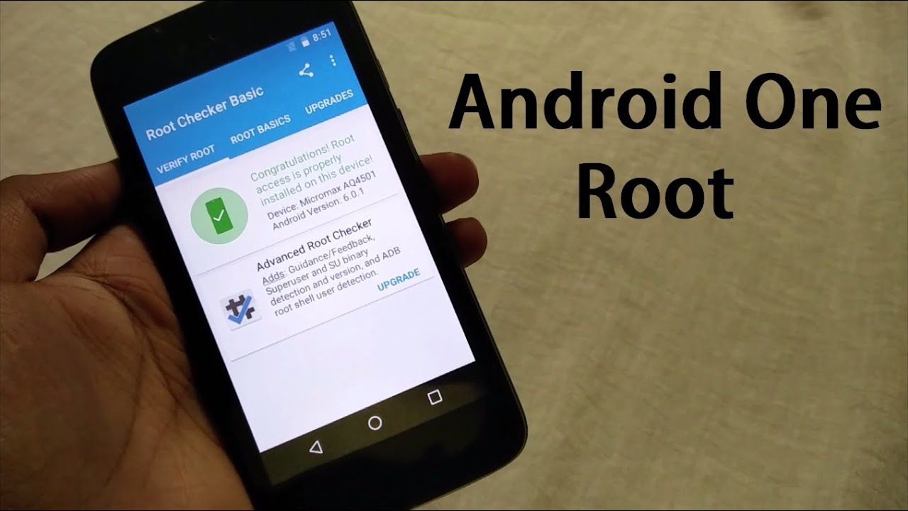How To Root Android One devices Running Android 6 0 1 Marshmallow Micromax  Canvas A1