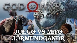 God of War || Juego VS Mito || Jörmundgandr, la serpiente del Midgard