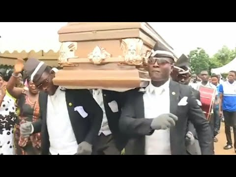 Download The COFFIN DANCE | Ghana's Pallbearers Funeral Dance Video | The Funny Funeral Full Dance Video