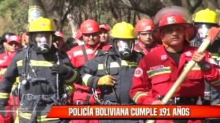POLICÍA BOLIVIANA CUMPLE 191 AÑOS