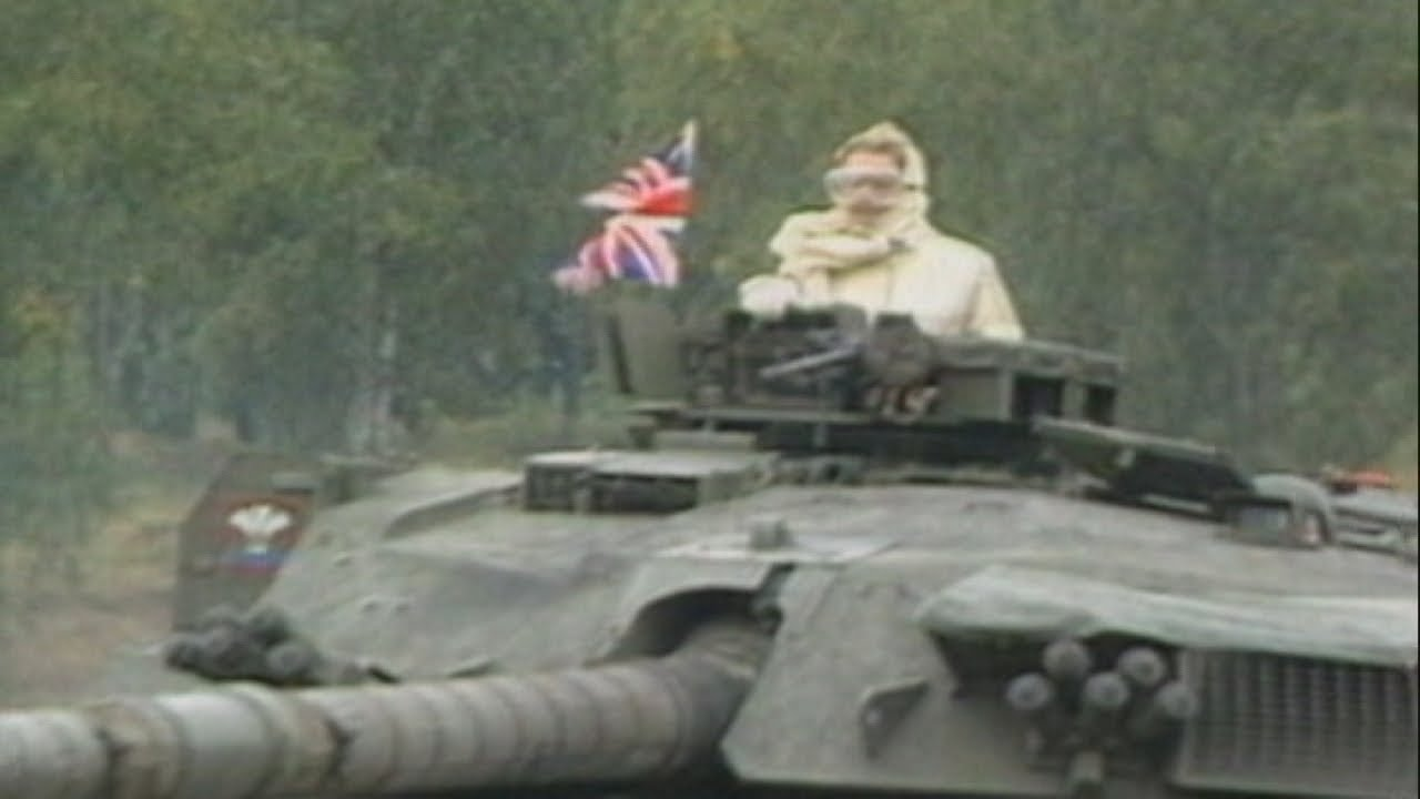 Margaret Thatcher's victory in the Falklands