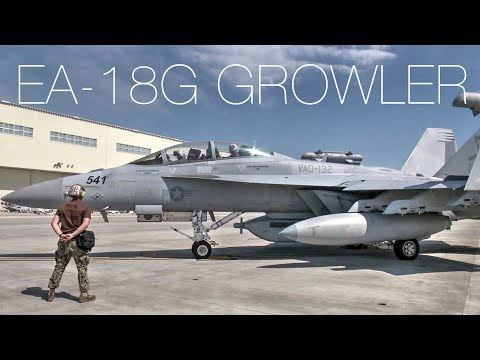EA-18G Growler – The Aircraft That Can Blind Enemies In A Fight