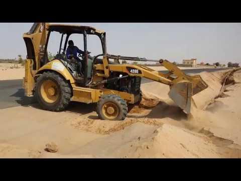 JCB Amazing Working On Pipe line । JCB Dozer video