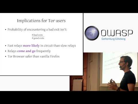 Surfing safely over the Tor anonymity network - Part1: Philipp Winter: Relays