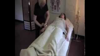 Swedish Massage Video 2 - Body brushing on the front of the body