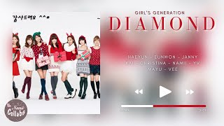 ⌠Collab⌡ Diamond - Girl's Generation (소녀시대) + Acapella