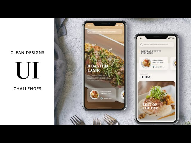 Flutter UI - Food Recipes