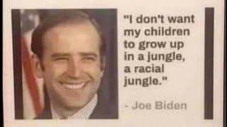 @joeBiden and the #Racist #CrimeBILL