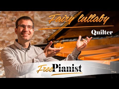 Fairy lullaby - KARAOKE / PIANO ACCOMPANIMENT - Roger Quilter