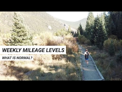 What's a Normal Mileage Level for Runners?