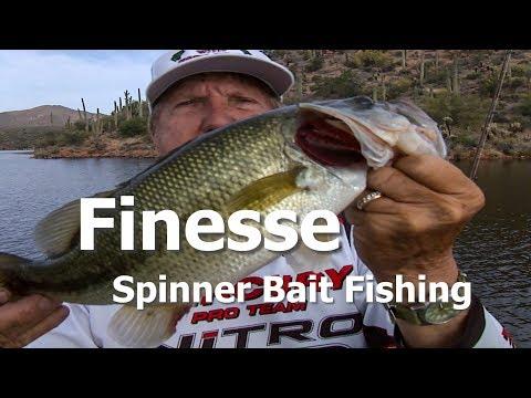 Finesse Spinner Bait Fishing