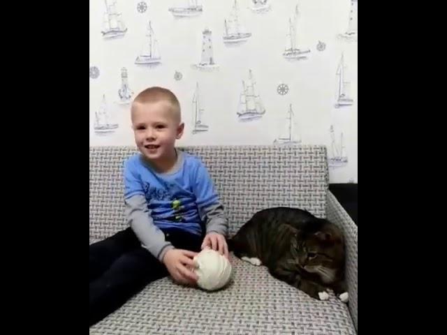 Изображение предпросмотра прочтения – ВладиславПятков читает произведение «Ах, как много на свете кошек...» С.А.Есенина