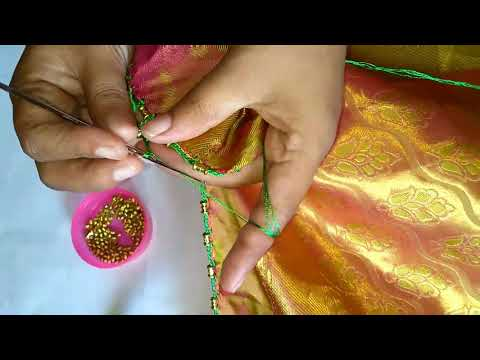 Avani saree kuchu design