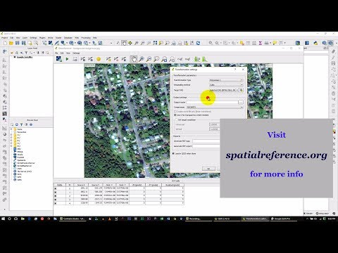 Creating GeoReferencing Imagery using Free QGIS Software