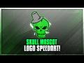 Skull Mascot Logo Speedart! | [3]