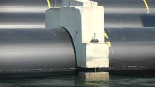 видео Закончено строительство причального комплекса