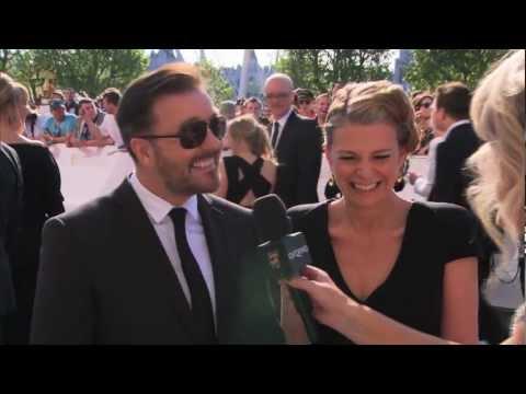Ricky Gervais  Red Carpet