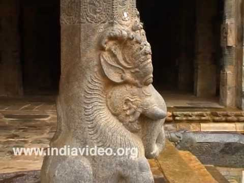 The interior wonders of Airavateswara temple