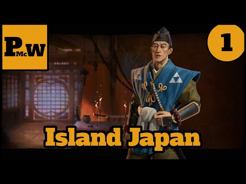Civilization VI Let's Play - Emperor and Chill - Large Island Plates - Hojo's Japan - Part 1