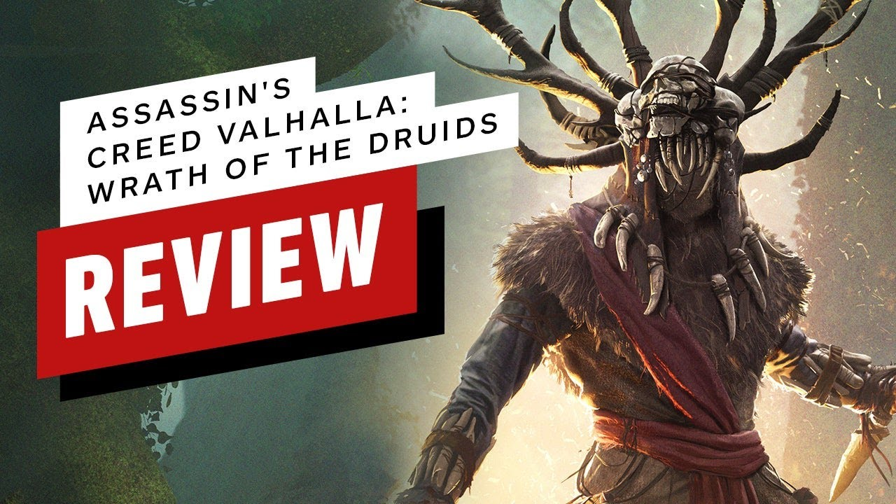 Assassin's Creed Valhalla: Wrath of the Druids DLC Review (Video Game Video Review)