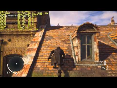 Assassin's Creed Syndicate / 1920x1080 GameWorksOFF / i7 4770K GTX 780 Ti |