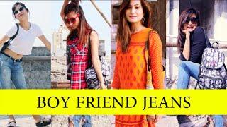 5 simple ways to style Boyfriend Jeans|| GIVEAWAY || Desi Style || Desi Girl
