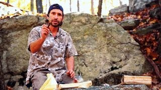 How to Make a Stone Tool | Survival Skills